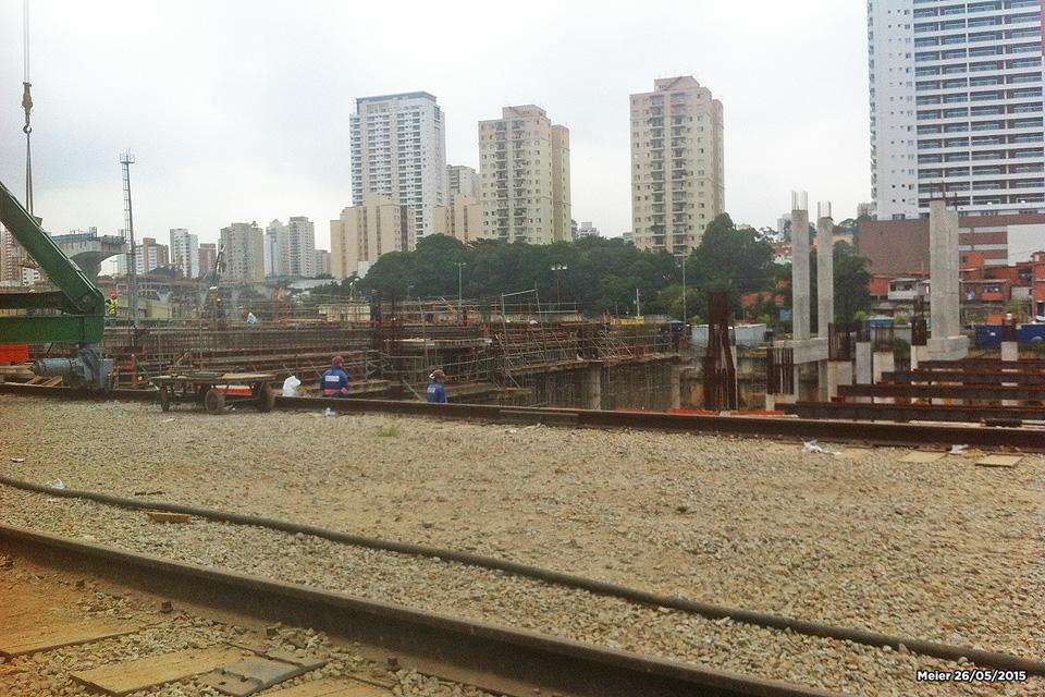 Pátio de trens da linha 17-Ouro