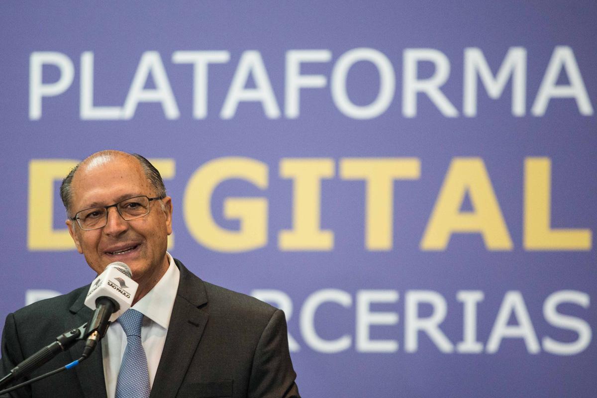 Governador Alckmin anuncia a intenção de conceder a Linha 5