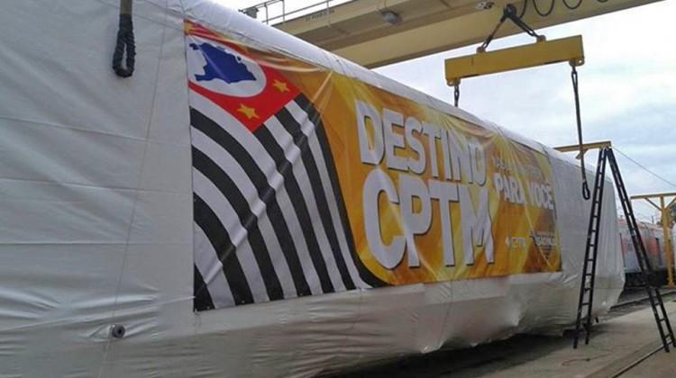 Primeiro trem Série 8500 da CPTM