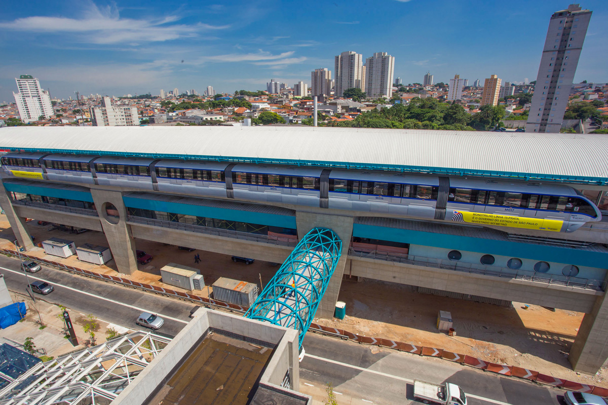 Estação Oratório (foto) será o único destino de quem chega da Linha 2
