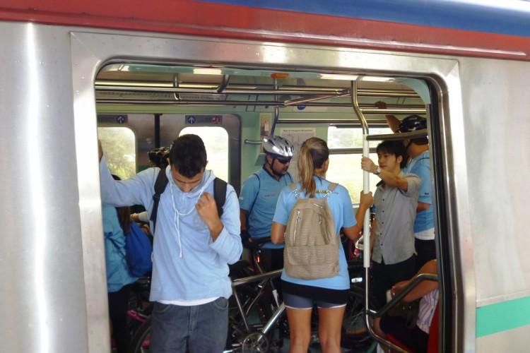 Bicicletas agora podem viajar na CPTM durante os dias úteis
