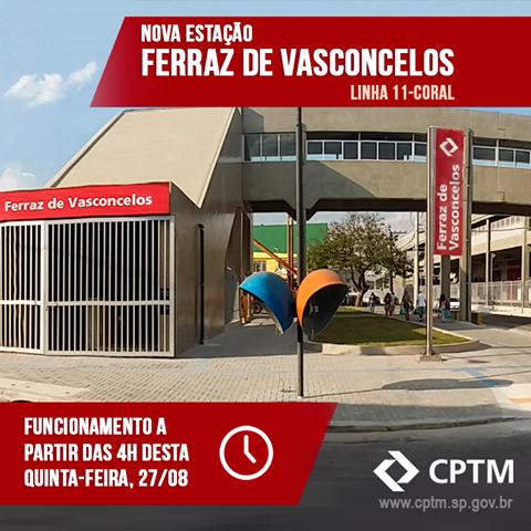 Anúncio da CPTM no Facebook