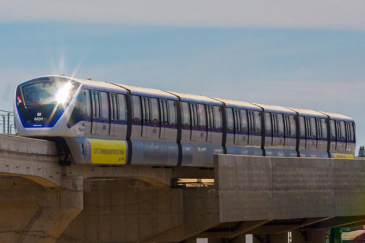 Monotrilho da Linha 15-Prata: após um ano de testes, início da operação comercial
