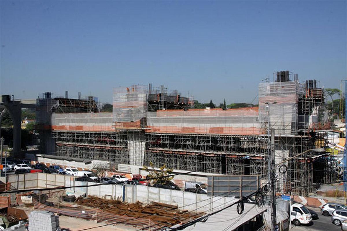 Estação da linha 17: trens começarão testes no final de 2016