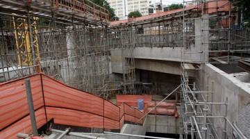 Estação Oscar Freire da Linha 4 deve ser uma das primeiras a ficar pronta