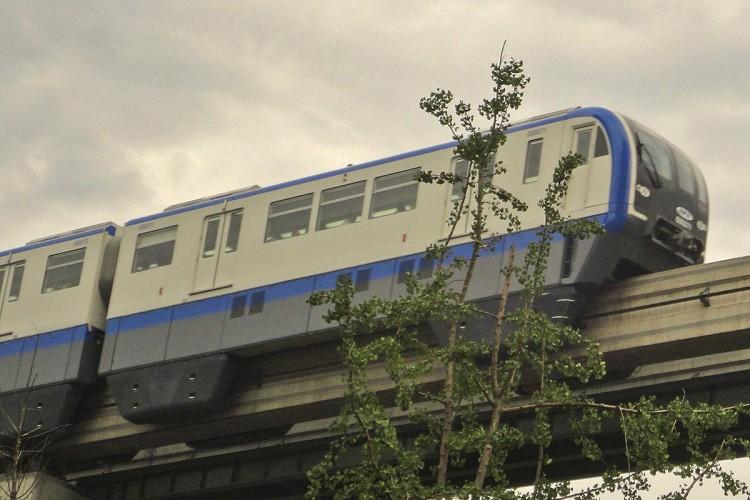 Monotrilho de Chongqing, na China: projeto viável