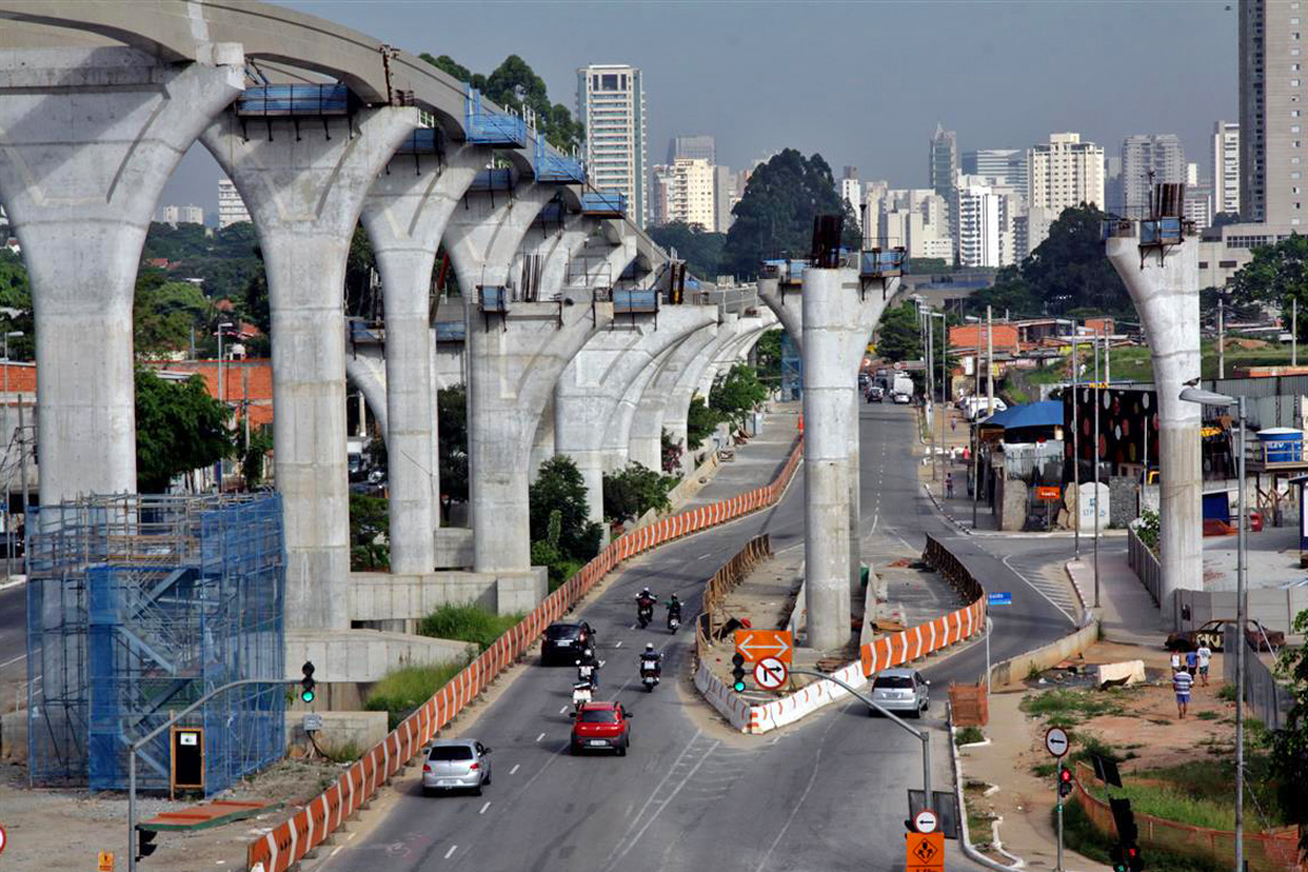 Linha 17 é uma das obras que deve ser afetada pela redução nos investimentos em 2016