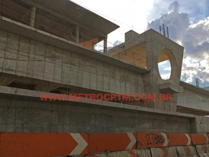 Estação Vila Cordeiro é a mais adiantada das três tocadas pelo consórcio afastado