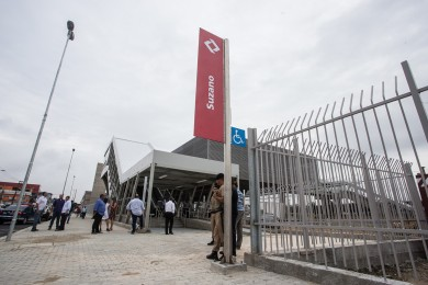Nova estação Suzano da CPTM