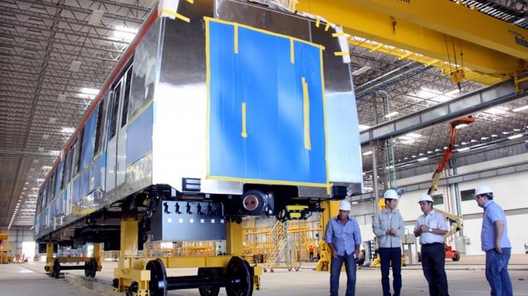 Fábrica produzirá os novos trens da CPTM