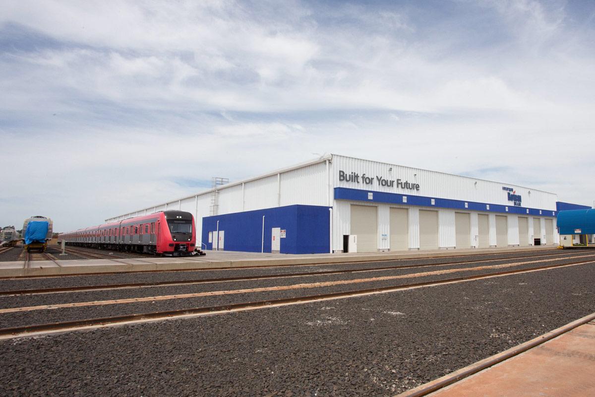 Fábrica da Rotem localiza-se em Araraquara, cidade com tradição ferroviária