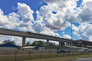 Vias próximas a estação Aeroporto de Guarulhos