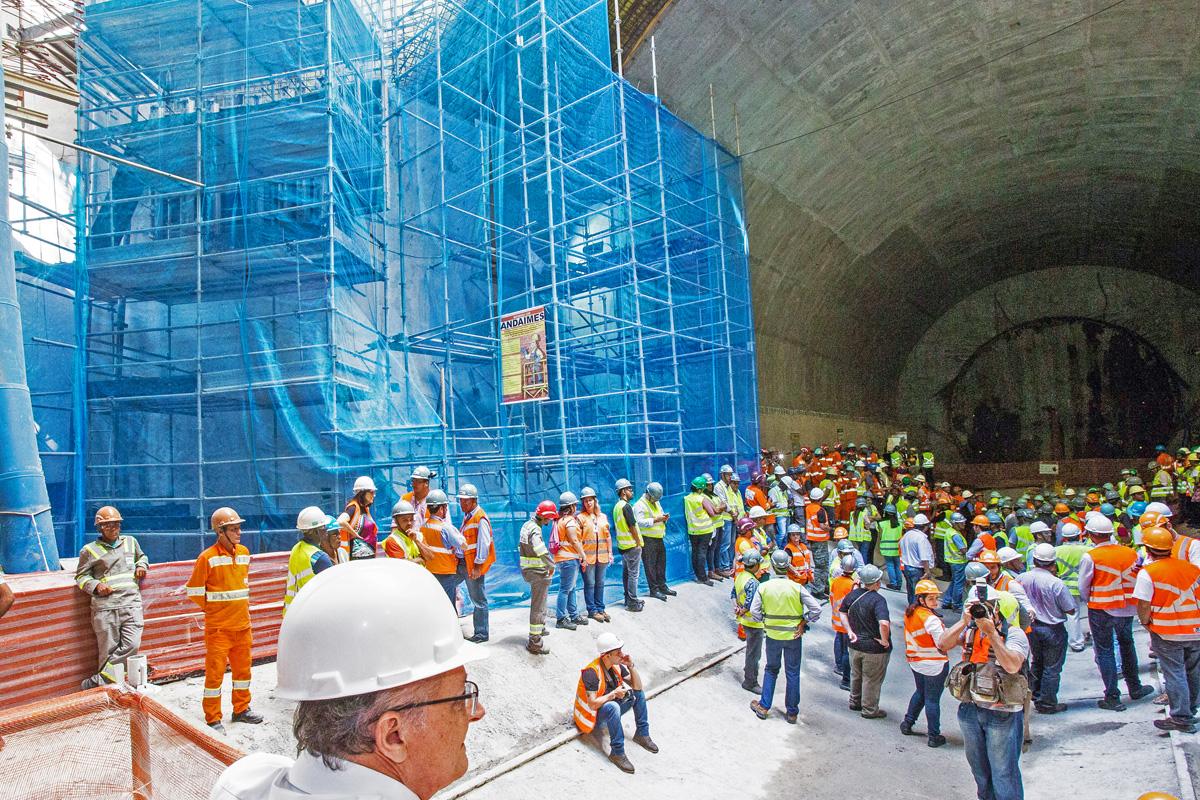 Estação Chácara Klabin deve ser entregue no final de 2017