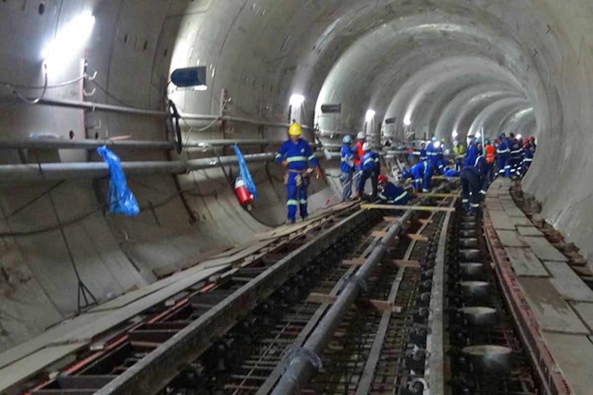 Trabalho nos túneis até a estação Brooklin seguem em bom ritmo