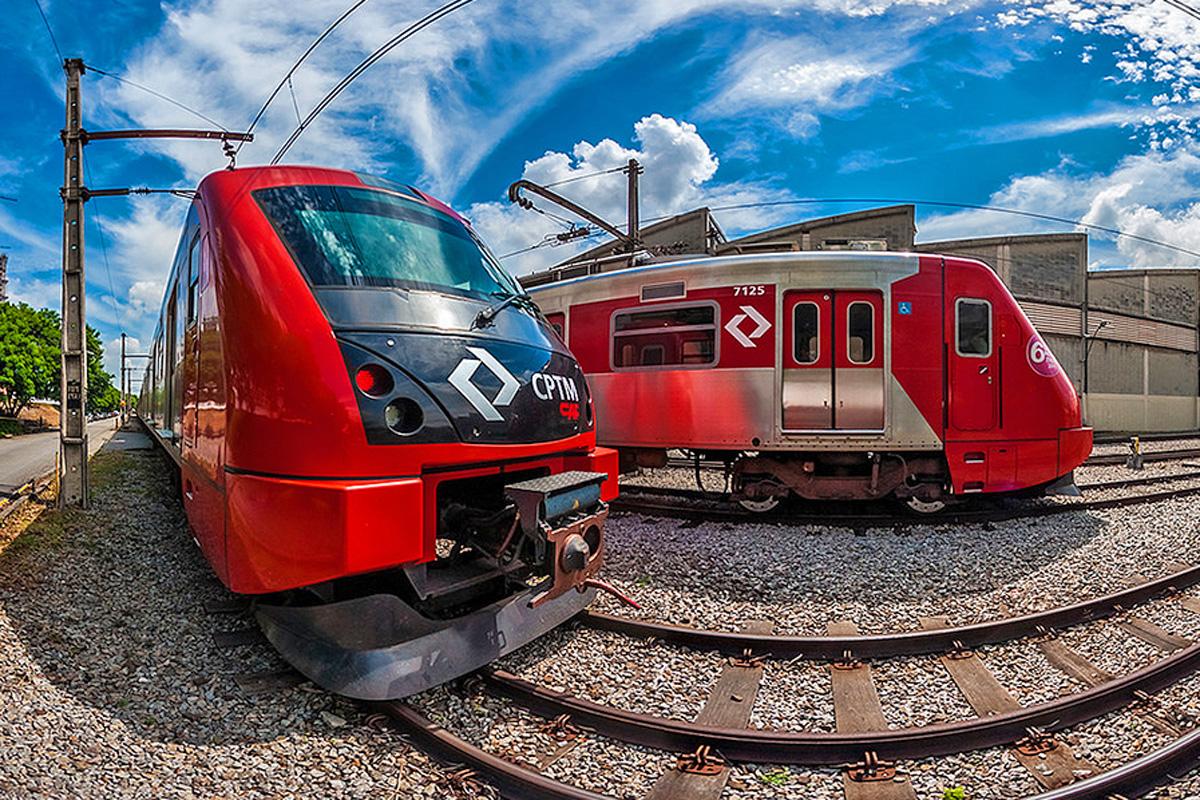 Trem da CPTM: em 2015, menos gente andou nas linhas da empresa