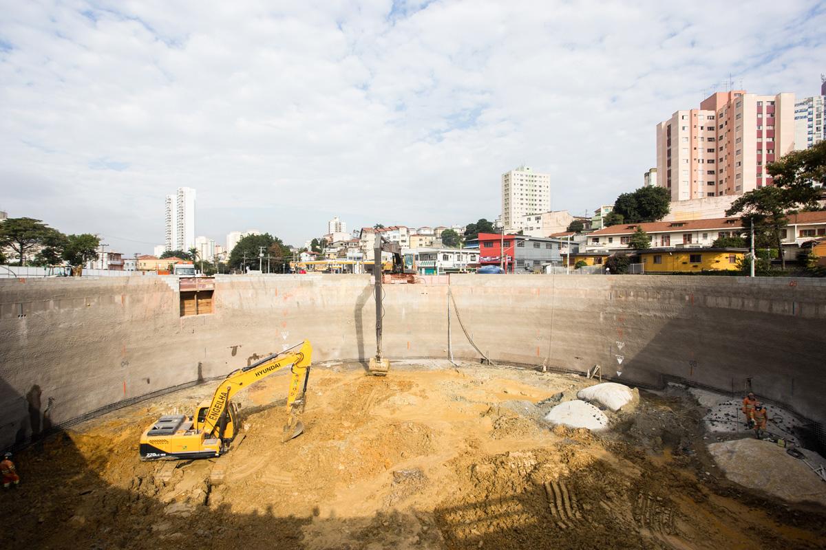 Estação João Paulo I: terceira estação em obras na Linha 6