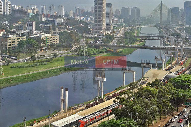 Estação Morumbi da CPTM: homônima da Linha 17 ficará ao sul e não mais em paralelo