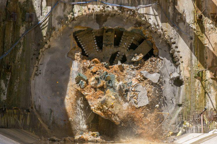 Megatatuzão da Linha 5: depois de mais mil dias escavações chegam ao fim
