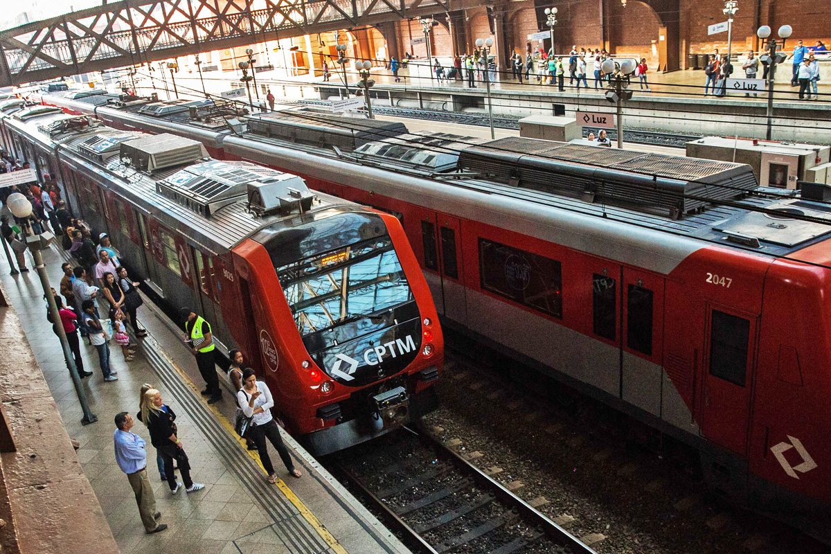 Trem da Linha 11-Coral: Expresso das Olimpíadas