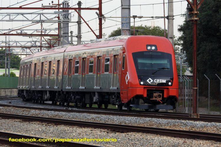Série 8500 da CPTM (foto: Paparazzi Ferroviário)