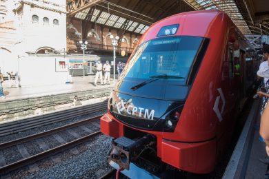 Os dois primeiros trens irão para a Linha 11, o seguinte, para a Linha 7