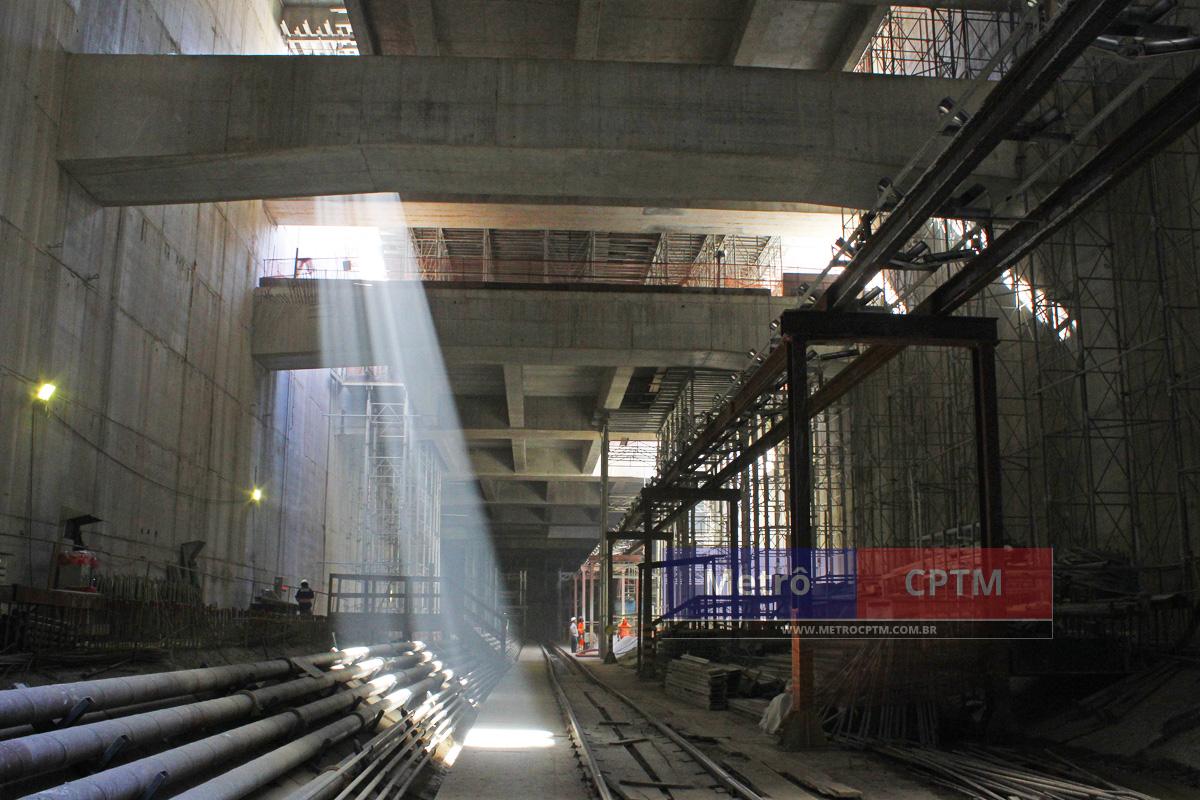 Estação Moema: movimento deve ser grande, sobretudo se a Linha 20-Rosa fizer conexão nesta parada