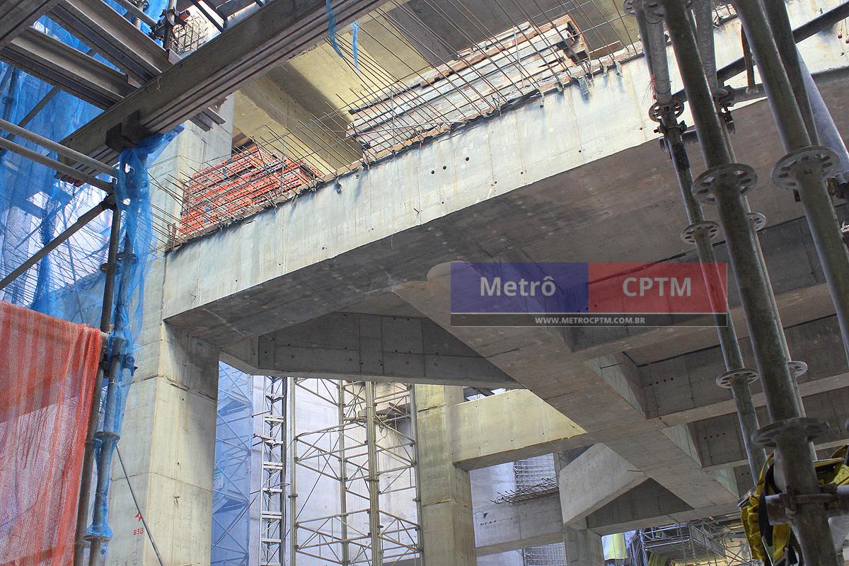 Aqui será feita a ligação com a Linha 2-Verde