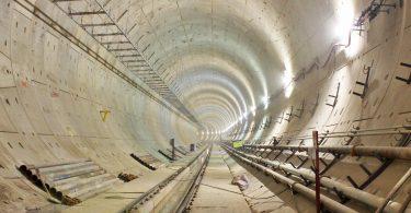 Túnel da Linha 5: silencioso, local está à espera de mais de meio milhão de passageiros