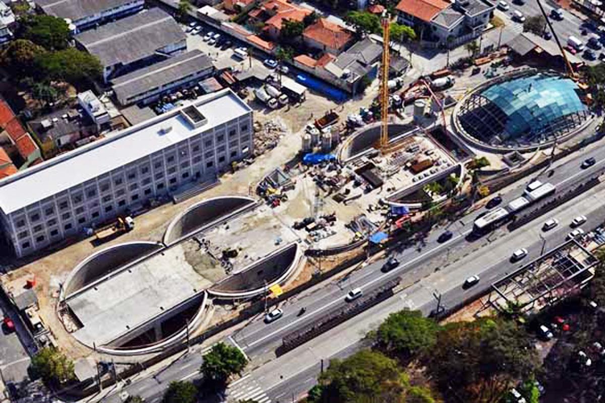 Futura estação Brooklin da Linha 5: quando ela entrar em operação será nas mãos da iniciativa privada