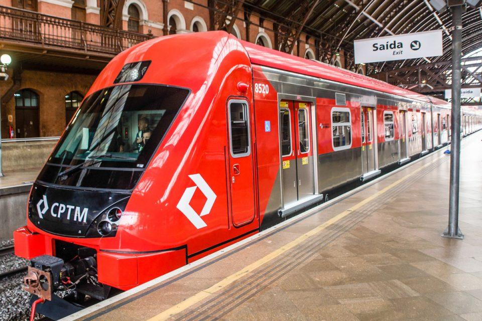 Trem da Série 8500 da CPTM