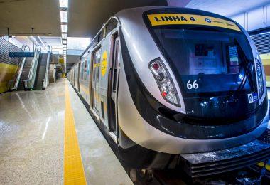 Linha 4 do Rio: teste de fogo a partir desta segunda-feira