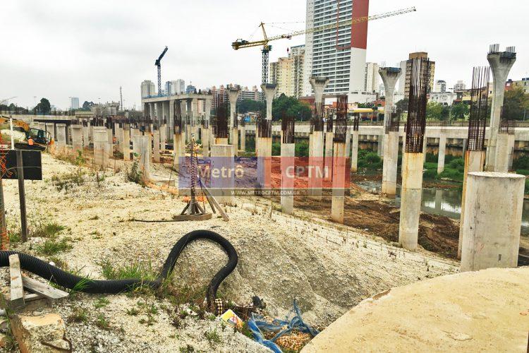 Pátio Água Espraiada: trabalhos começaram mas obras, apenas em outubro