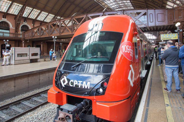 Novo trem da Série 8500: maior frota na Linha 7-Rubi