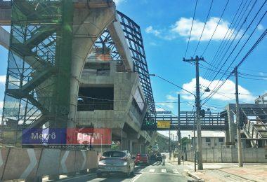 Estação Jardim Planalto em novembro de 2016