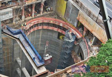 Detalhe dos túneis de ligação: projeto prevê fluxos de ida e volta separados para evitar problema semelhante ao da ligação Consolação-Paulista