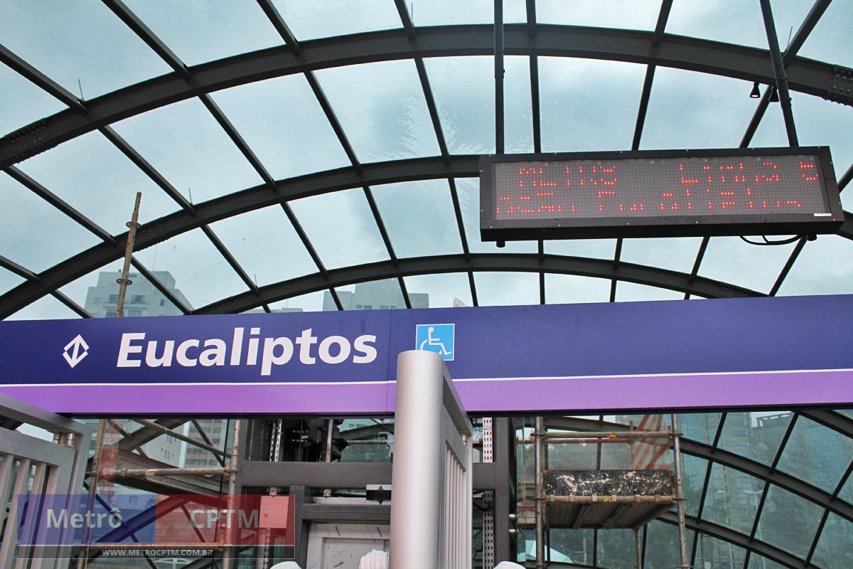 Depois de atrasos, estação da Linha 5-Lilás tem obras finalizadas