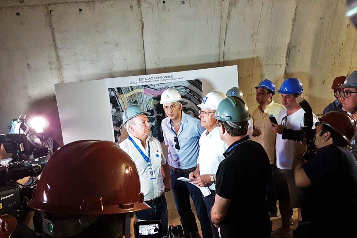Alckmin inaugura estação Eucaliptos na Linha 5-Lilás | São Paulo