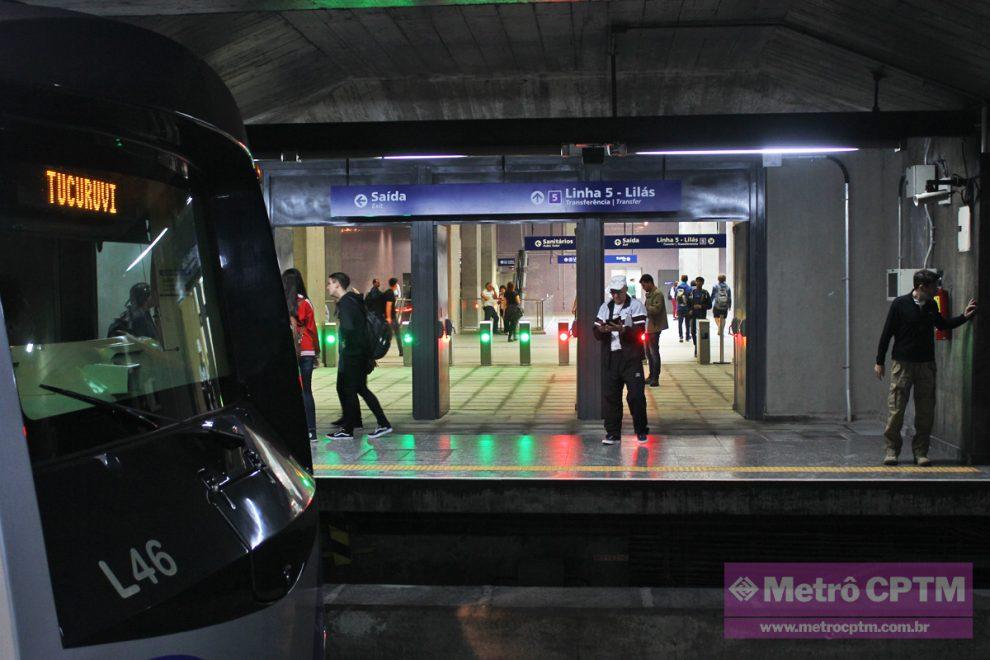 Agora ligada aos ramais 1-Azul e 2-Verde, Linha 5-Lilás vai atrair ... 7ee7c304cc