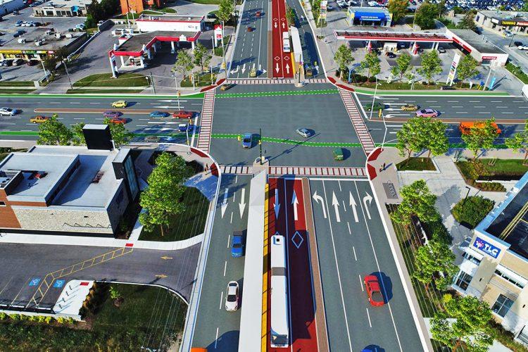 BRT de Londres, no Canadá