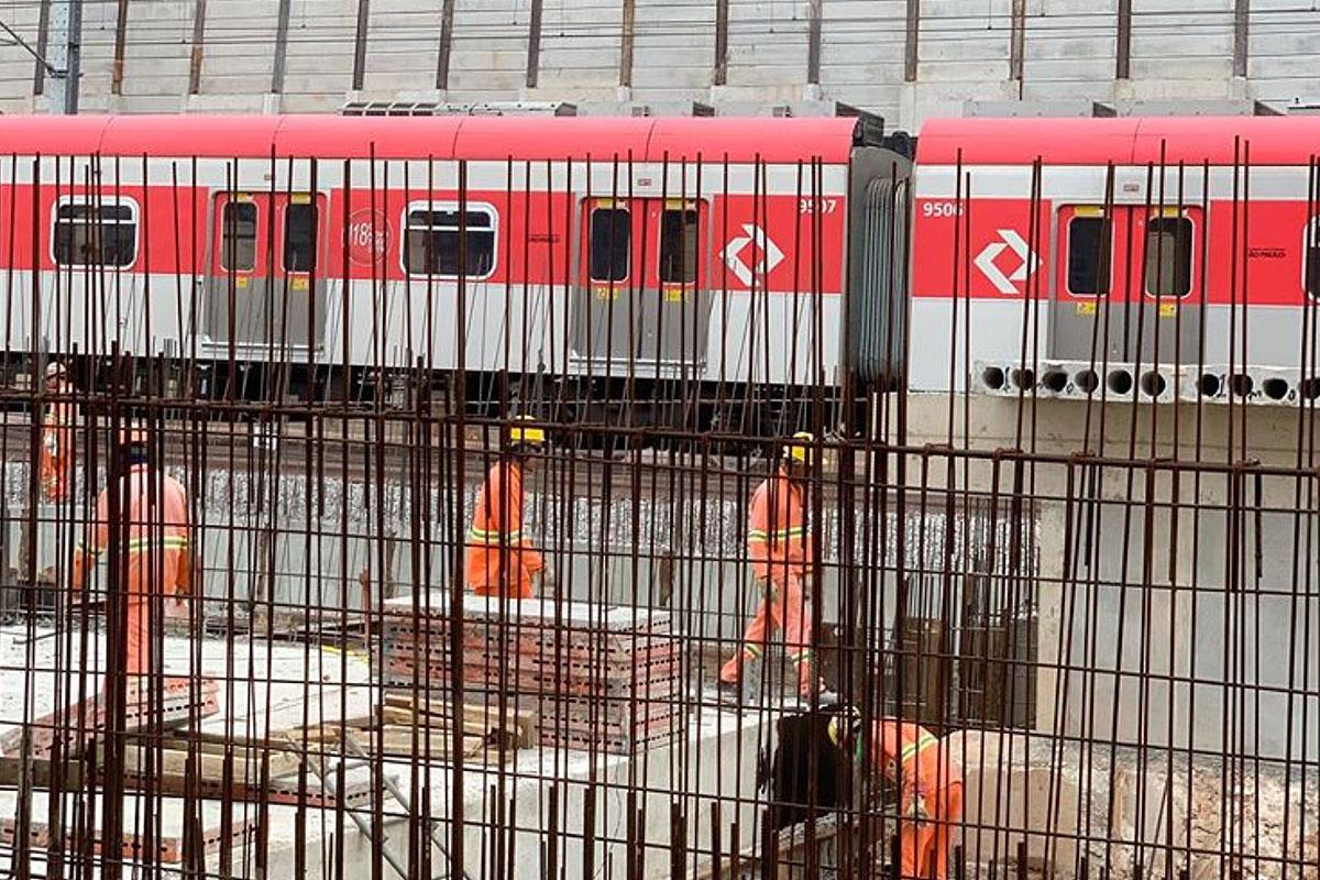 Caso raro, CPTM pretende entregar nova estação Francisco Morato antes do prazo - Metrô CPTM